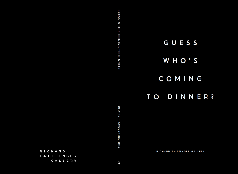 Guess Who's Coming to Dinner? Exhibition Catalog
