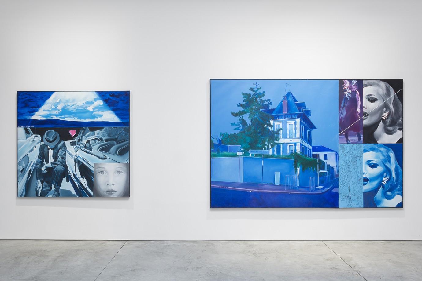 Left: La vie imaginaire de Jonq Erouas Cym n°5; Right: Spéciale n°54 Hommage á Hopper