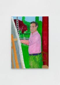Charlie Scheips – Self Portrait, rue de la Fontaine