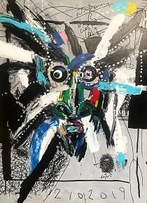 Aki Kuroda – Self Portrait