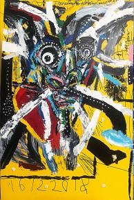 Aki Kuroda – Self-portrait