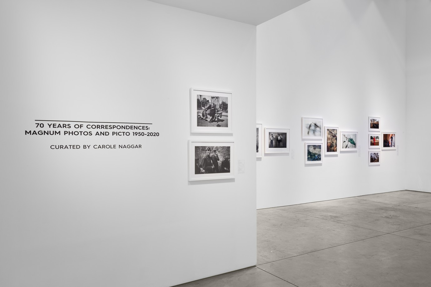 70 YEARS OF CORRESPONDENCES: MAGNUM PHOTOS AND PICTO 1950-2020