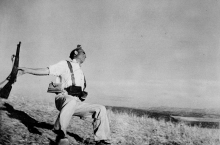 Robert Capa-Death of a Loyalist Militiaman Man near Espejo, Córdoba Front, Spain, 1936