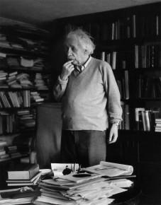 Ernst Haas – Albert Einstein, Princeton, N.J., 1958